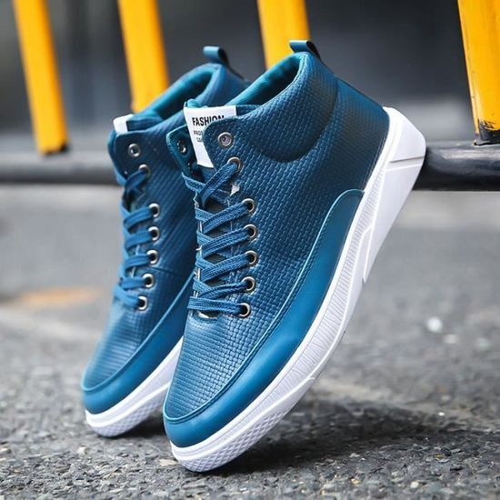 aa5a02d0198 ... Montantes Chaussures Chaussure Skate Homme Basket Mode Shoes TSTwqvn1x  ...