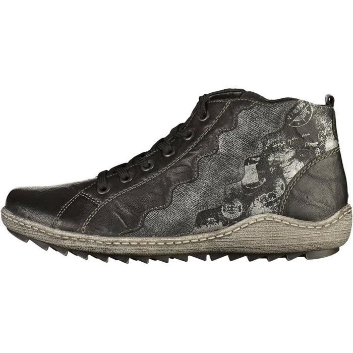 chaussures a lacets r1474 femme remonte r1474