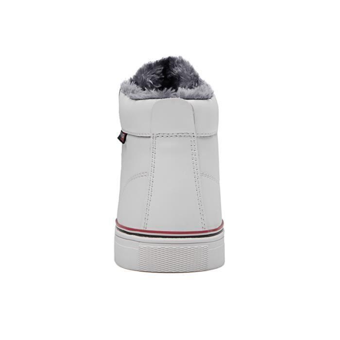 Bottes de neige hiver chaussures en coton chaussures pour hommes chaussures de sport