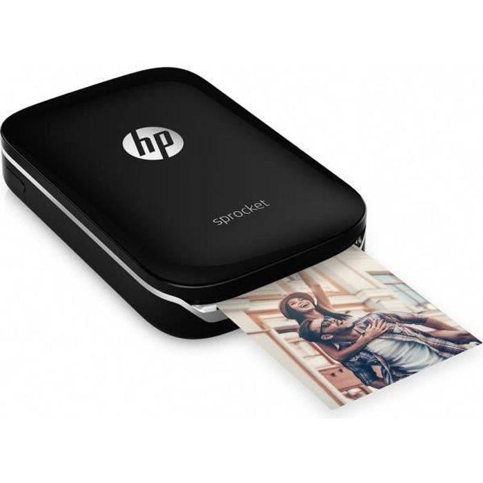 HP Imprimante Photo de poche - Sprocket Noir - Impression Instantanée