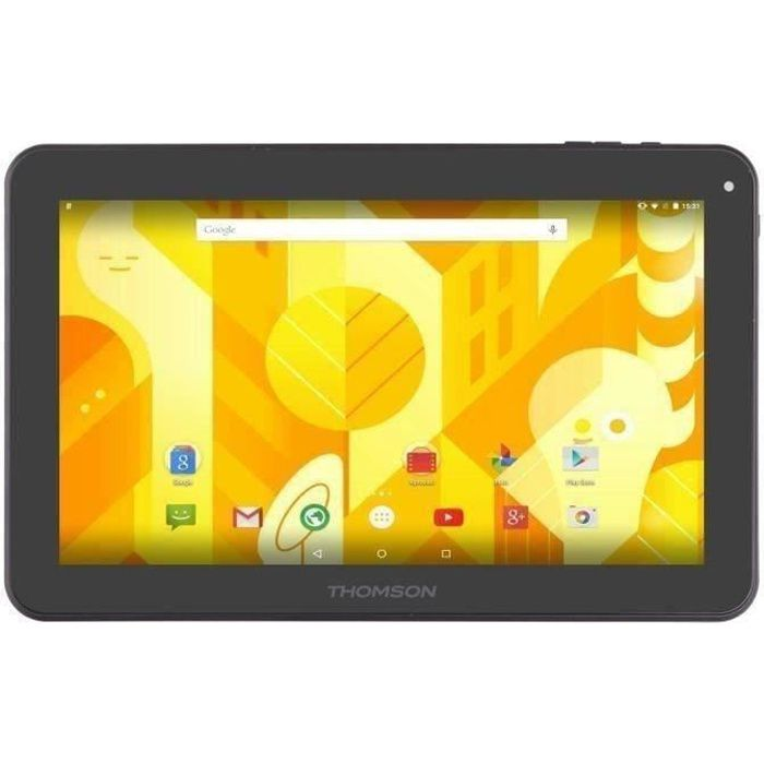 THOMSON Tablette tactile TEO10-8G - 10,1' pouces - RAM de 512Mo - Androïd - Actions ATM7051 - Stockage 8 Go - WiFi