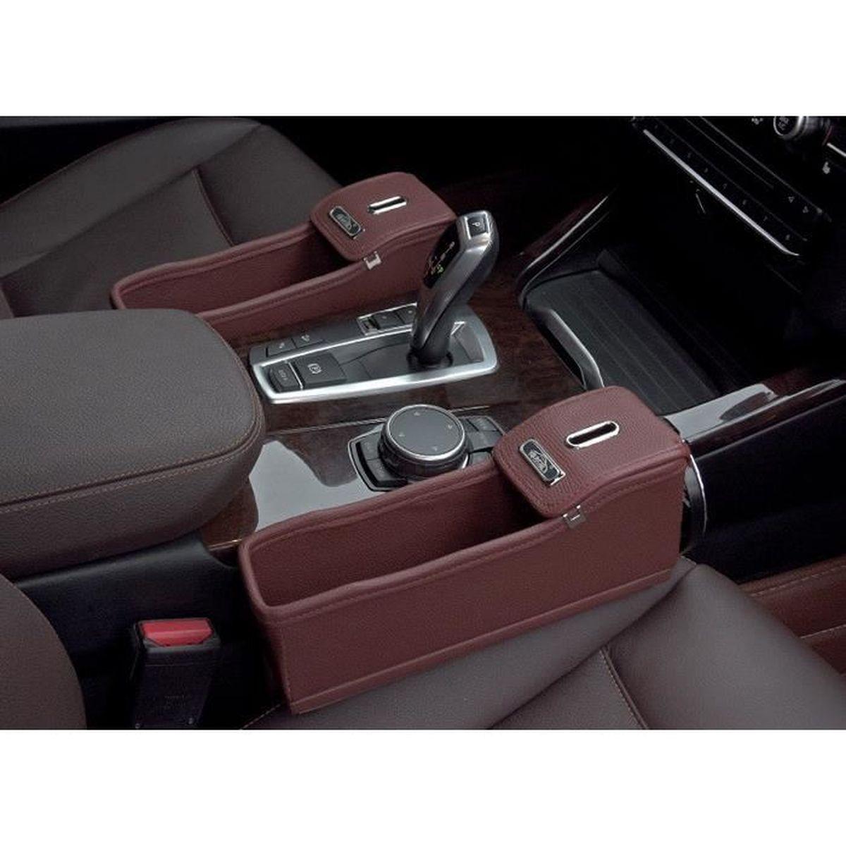 2pcs sac de rangement pour si ge de auto voiture entre. Black Bedroom Furniture Sets. Home Design Ideas