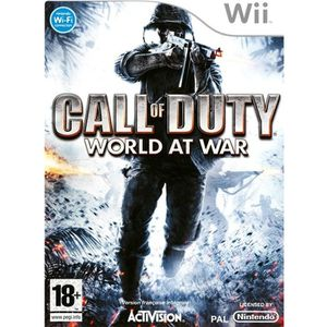 JEUX WII CALL OF DUTY 5 WORLD AT WAR / Jeu console Wii