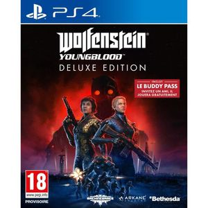 JEU PS4 Wolfenstein : Youngblood Deluxe Edition Jeu PS4