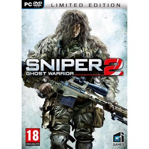 JEU PC SNIPER GHOST WARRIOR 2 EDITION COLLECTOR / PC