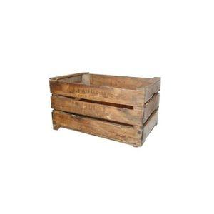 caisses en bois vieilli achat vente caisses en bois vieilli pas cher cdiscount. Black Bedroom Furniture Sets. Home Design Ideas