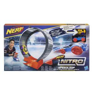 Boucle d'oreille E2289eu4 boucle de vitesse Set Stunt - Set Toy Bla