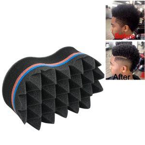 BROSSE - PEIGNE Double coiffure de cheveux Magic Twist brosse d'ép