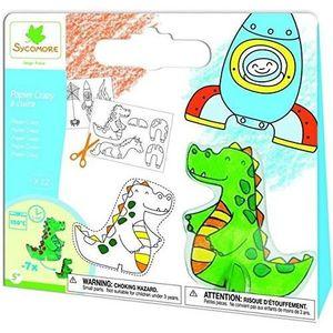 Kit papier créatif SYCOMORE Pochette Papier à Cuire