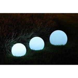 DÉCORATION LUMINEUSE BATIMEX Sphère Led sans fil télécommandable 40cm -