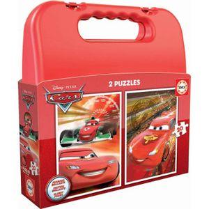PUZZLE EDUCA - Malette Puzzles CARS 2x20pcs