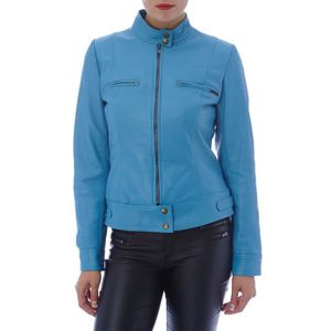 Veste superdry femme bleu marine