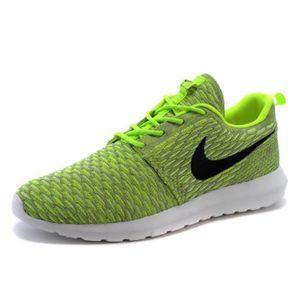 Hommes Femmes Nike Roshe Run Flyknit Baskets Chaussures de