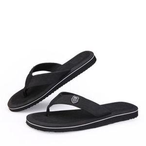 pantoufle été Poids Léger tongs sandales homme marque Antidérapant chaussures plage chaussure homme tendance G dssx105noir42 4jDb0W