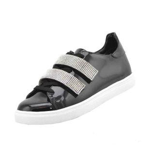 MOCASSIN Chaussures de sport Mode féminine | Rhinstone Stra