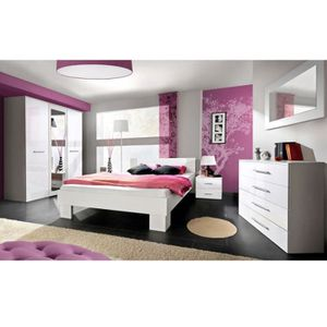 Chambre a coucher complete adulte 180x200 achat vente chambre a coucher c - Achat chambre complete adulte ...