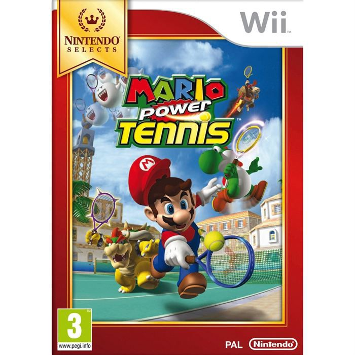 mario power tennis selects jeu wii achat vente jeux wii mario power tennis selects cdiscount. Black Bedroom Furniture Sets. Home Design Ideas