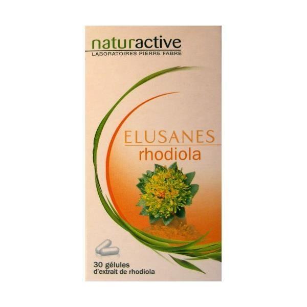 Elusanes Rhodiola 30 Gélules - Contre le Surmenage