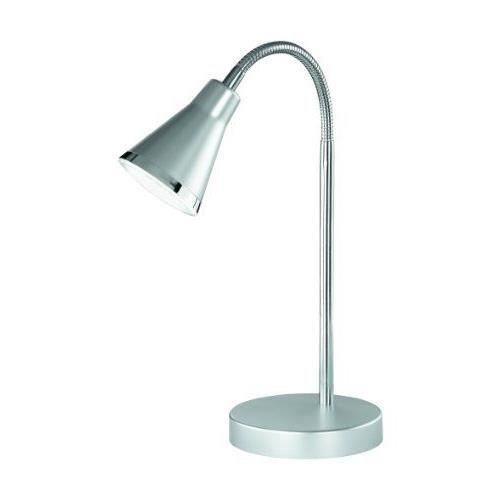 reality leuchten r52711187 lampe armature flexible avec 1 x ampoule led smd 5 w 240 lm 3000 k. Black Bedroom Furniture Sets. Home Design Ideas