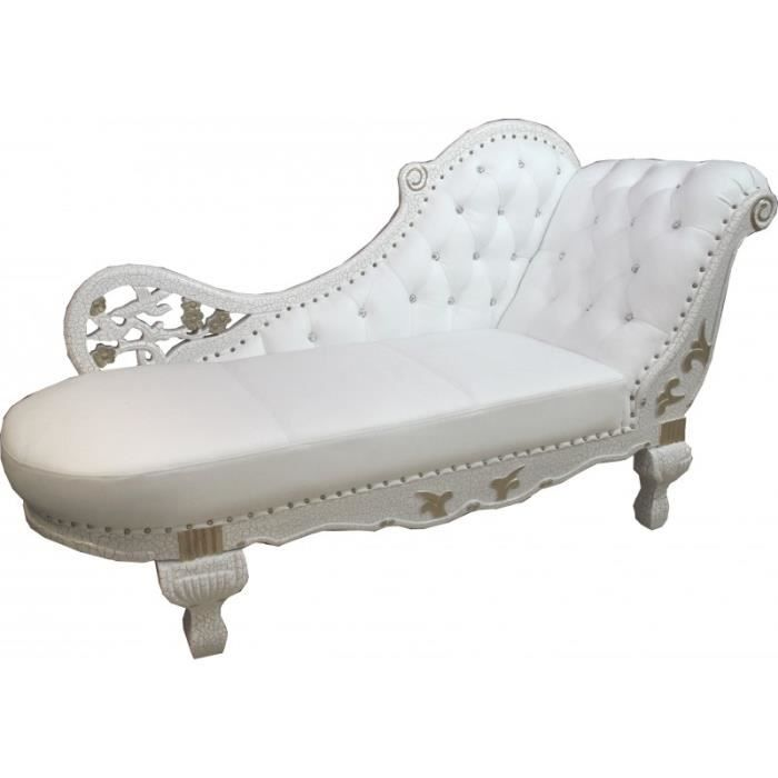 Room Leather Chaise Gold Baroque Living By Casa Furniture White Longue Lonque Real Padrino Made Divan XZiuOPk