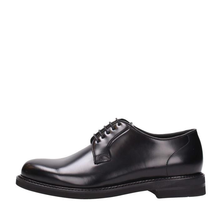 Berwick 1707 Lace Shoes Homme Black X8lX605ARc