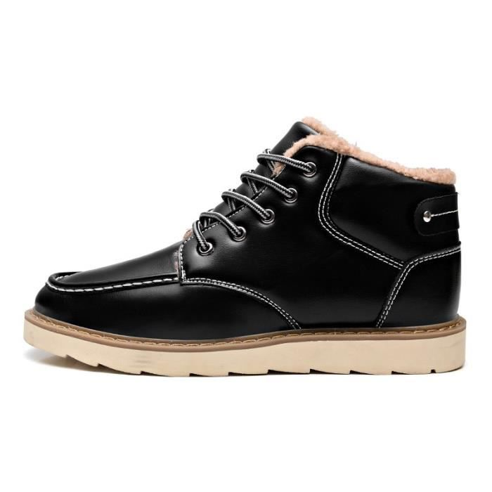 Chaussures hiver noires Casual homme KdKxIQL38