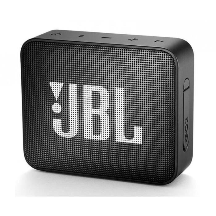 ENCEINTE NOMADE Enceinte bluetooth JBL GO 2 Noire etanche