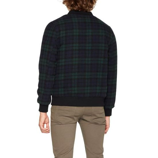 Jacket Bomber Taille 3j58l3 s Hymne Men Wool Check YqgxIt