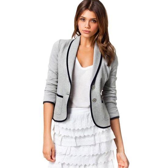 Outwear Longues Manteau Les Femmes Veste Blazer Paontry8709 Taille Slim Tops D'affaires Costume 6xl S Manches fqfaYvgx