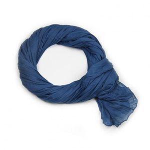 02228c573f94 Chèche 100% coton Bleu Gitane uni Bleu - Achat   Vente echarpe ...