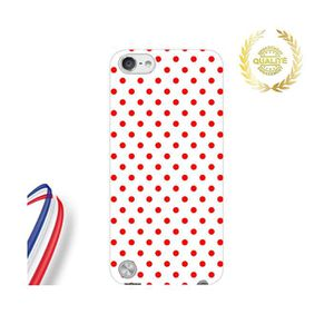 COQUE MP3-MP4 Coque iPod Touch 5 Apple Point Rouge