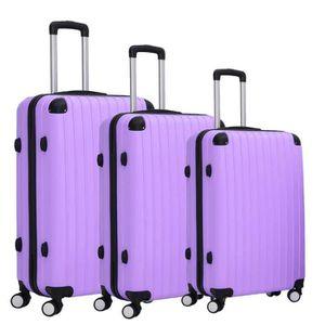 SET DE VALISES Lot de 3 valises souples à roulettes pivotantes, 5