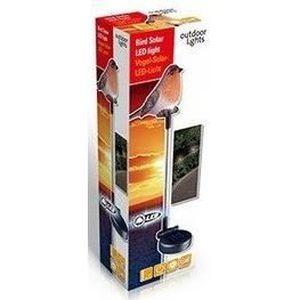 TUTEUR LAMPE SOLAIRE OISEAUX DECORATION JARDIN LED - Achat / Vente ...