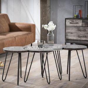 Table basse en bois modulable - Achat   Vente pas cher d105855169ad