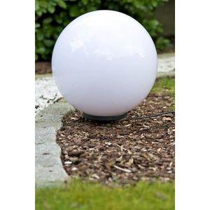 Lightcraft sandshine l lampe de jardin éclairage boule en pierre ...