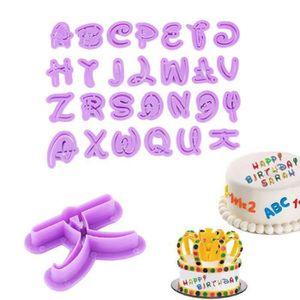 MOULE  Emporte Pièce Lettre Alphabet Lot de 26pcs Cutter