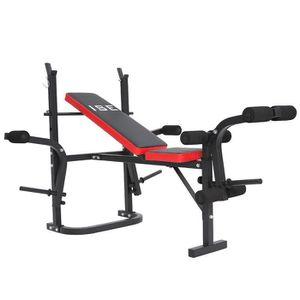BANC DE MUSCULATION ISE Banc de Musculation Multifonction Ajustable Pl
