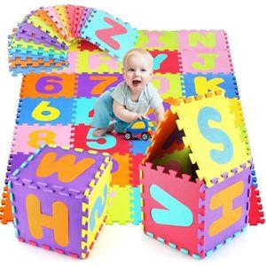 TAPIS DE JEU ss-33-HOMFA Puzzle Tapis de Jeu Enfant en Mousse E