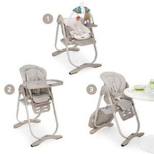 chicco chaise haute evolutive polly magic mirage mirage achat vente chaise haute. Black Bedroom Furniture Sets. Home Design Ideas