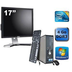 UNITÉ CENTRALE + ÉCRAN Dell Optiplex 780 - E8500 3,16GHz -4Go +Ecran 17''