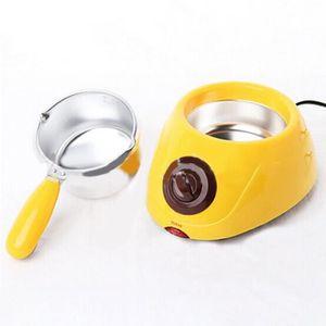 Chocolat candy Melting Pot Electric fondeur Machine À faire soi-même Cuisine Outil 20 W Rose