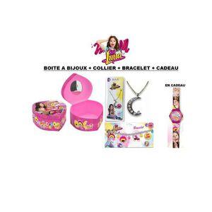BOITE A BIJOUX Soy Luna Boite A Bijoux Coeur + Bracelet Charms +