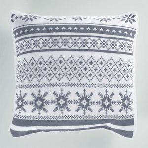 Coussin Sherpa Coral Finland Gris Achat Vente Coussin Cdiscount