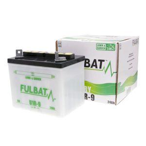 BATTERIE VÉHICULE Batterie 12V 24Ah FULBAT U1R-9 sec incl. Paquet ac
