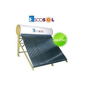 KIT PHOTOVOLTAIQUE Chauffe-eau solaire à tube 150 L. ESCOSOL-24