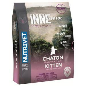 CROQUETTES NUTRIVET Croquettes au poulet Inne - Pour chaton -