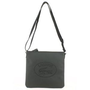 d98bb7e277 SACOCHE Sacoche Lacoste Flat Crossover Bag Noir