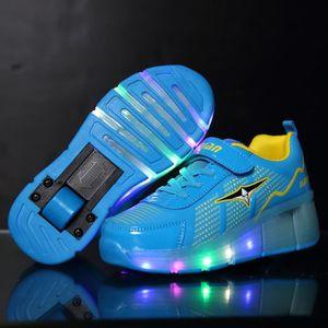 BASKET Enfants Heelys chaussures avec roues enfants casua