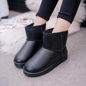 BOTTINE Femmes Boot Bottines plates fourrées hiver neige c