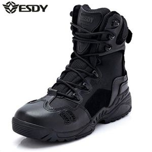 moto Chaussures Boots ESDY Randonnées Hommes Noir Supermoto XTqd41w7